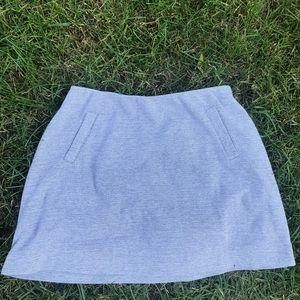 gray gap mini skirt
